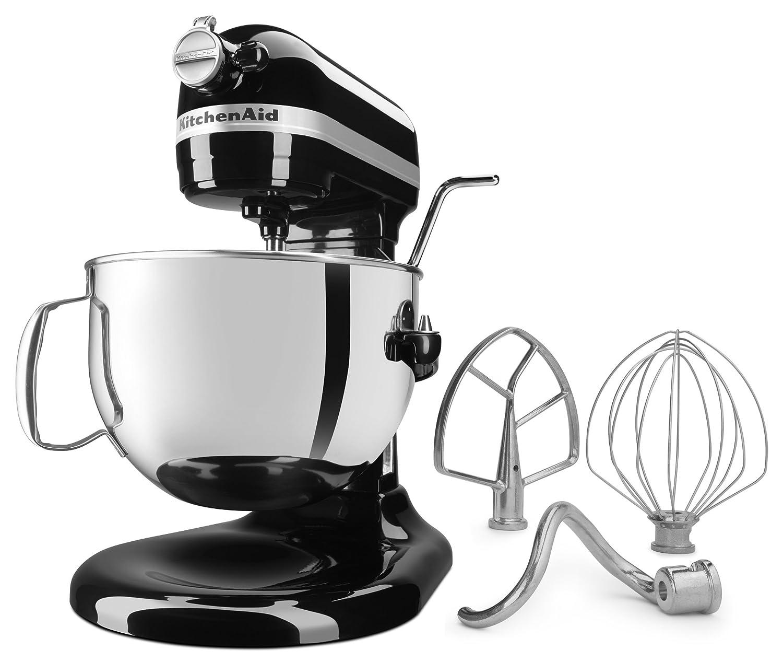 Amazon.com: KitchenAid KL26M1XOB Professional 6-Qt. Bowl-Lift Stand ...