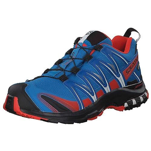 d5e44e7738 Salomon Men's Xa Pro 3D GTX Waterproof Trail Running Shoes, Blue (Indigo  Bunting/