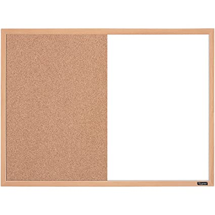 Amazon.com : Quartet Combination Whiteboard/Cork Bulletin Board, 23 ...