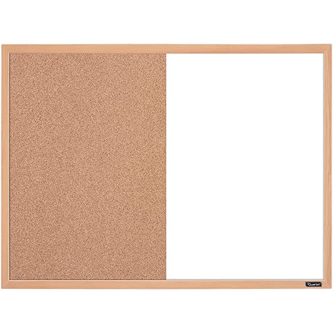Amazon.com : Quartet Combination Whiteboard/Cork Bulletin Board, 23 ...