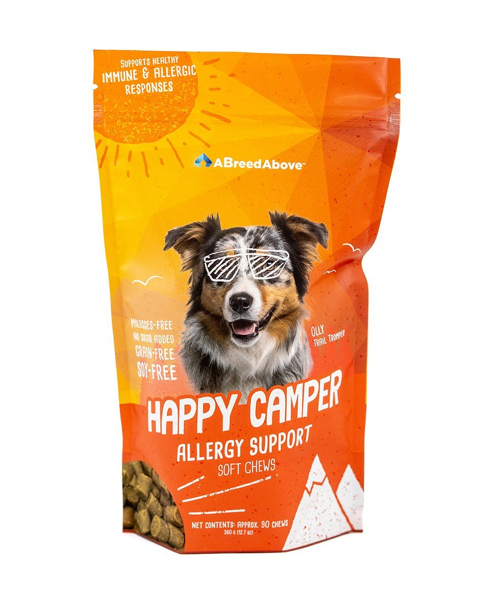 A Breed Above: Happy Camper Allergy Support, 90 Count