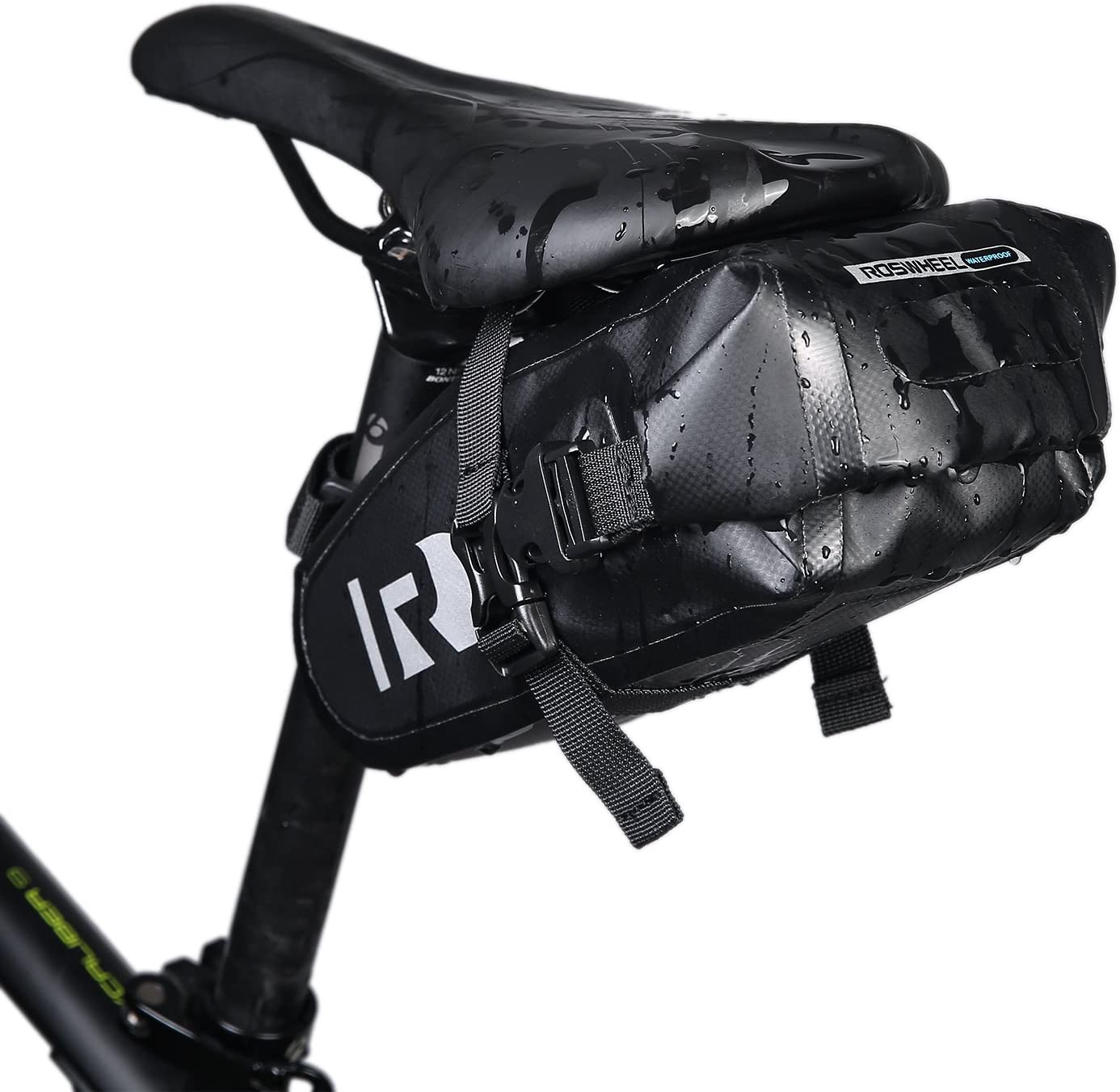 ROCKBROS Bicycle Saddle Bag Cycling Under Seat Bike Waterproof Seatpost Red Bag
