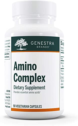 Genestra Brands – Amino Complex – Amino Acid Supplement – 90 Capsules