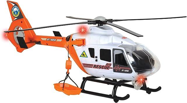Dickie- Helicóptero Rescate (3719004): Amazon.es: Juguetes y juegos