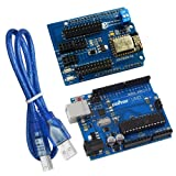 KOOKYE ESP8266 UART WIFI Shield with Uno R3 Board for Arduino