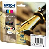 Epson 16 DURABrite Ultra Ink – Multipack, 4 colours