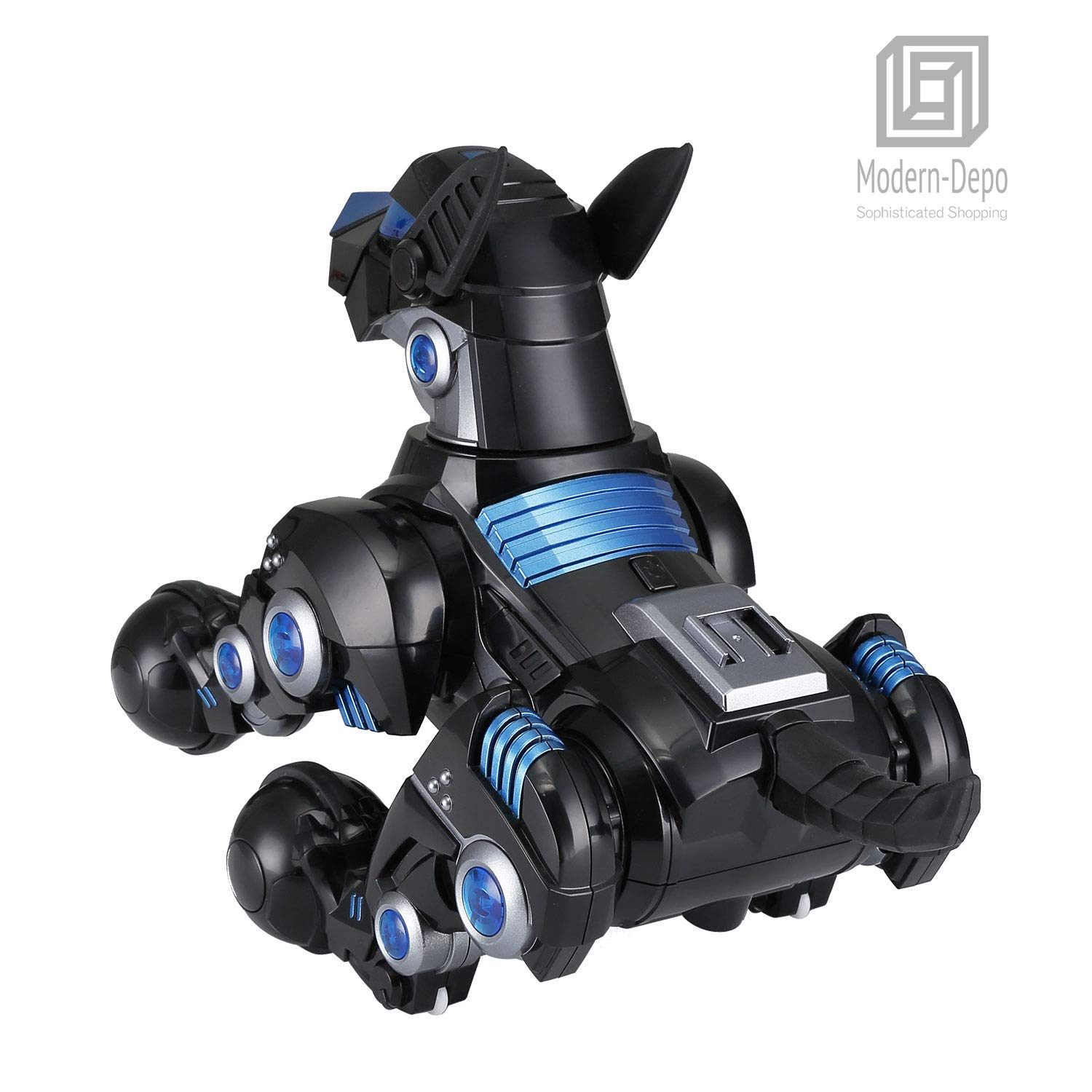 Modern-Depo Rastar Intelligent Robot Dog with Remote Control for Kids, USB Charging, Dancing Demo - Black by Modern-Depo (Image #6)
