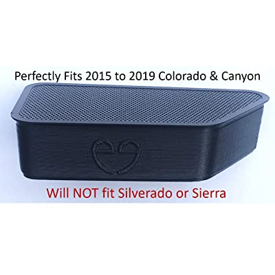 AOWIS Bed Rail Stake Pocket Cover for GMC Canyon Chevy Colorado 2015-2020