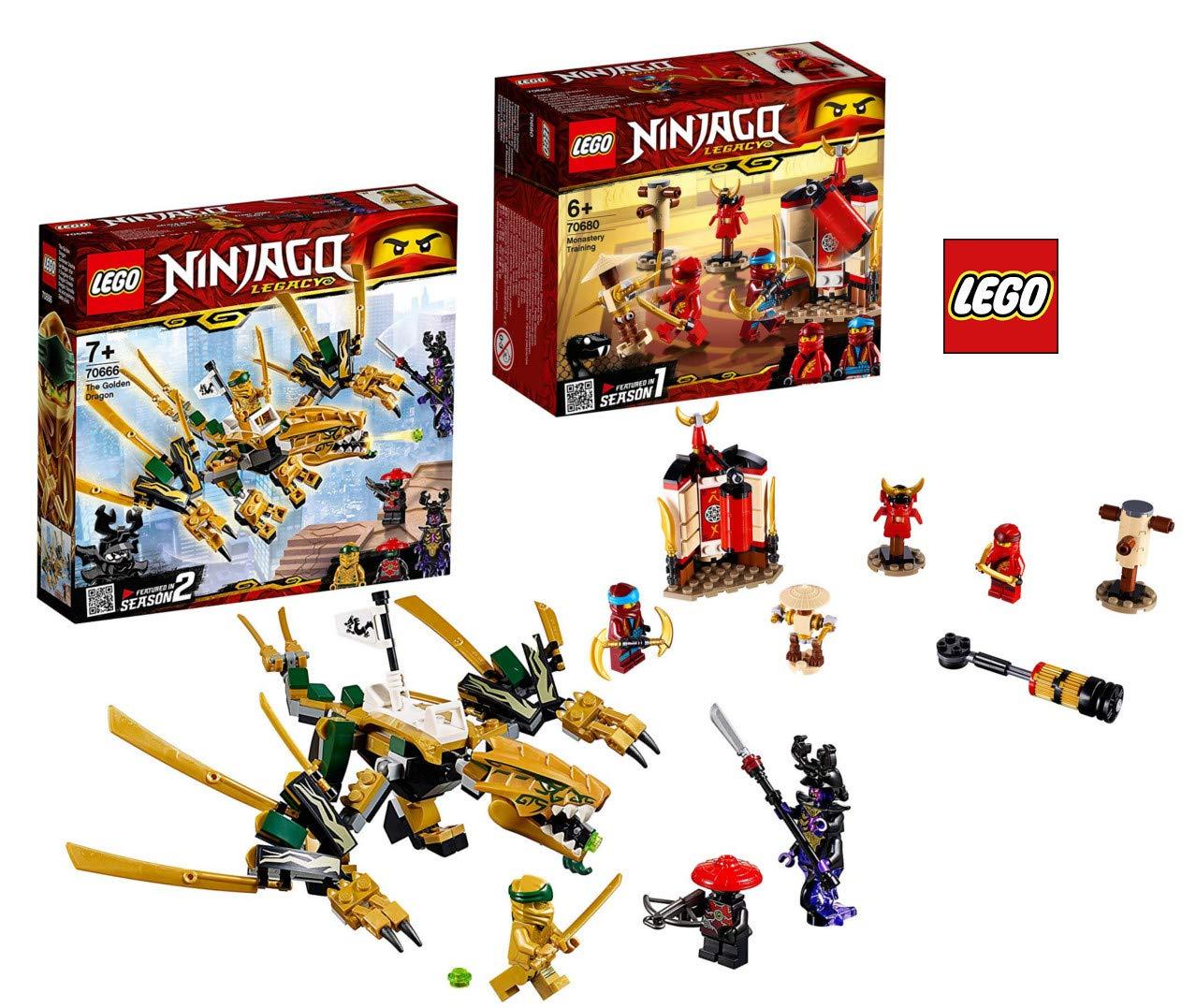 LEGO 70666 - 70680 Ninjago - Dragón Dorado: Amazon.es ...