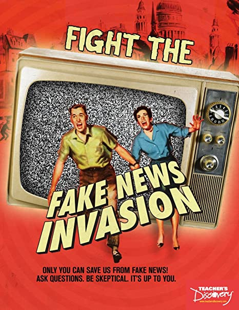 Amazon com : Fight the Fake News Invasion Book : Office Products