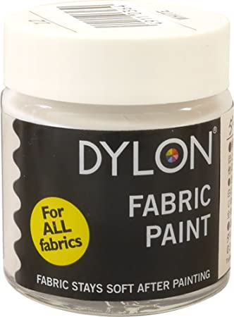 DYLON ventilador de color (el uso de tela y pintado a mano por el ...