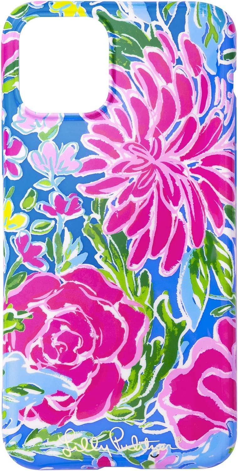 Lilly Pulitzer Pink/Blue iPhone 11 Pro Case for Women, Bunny Business