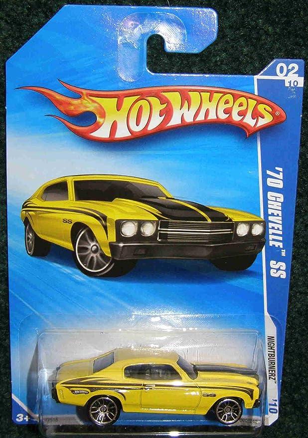 Candy Tangerine 2010 NIGHTBURNERZ Hot Wheels /'70 CHEVELLE SS #090