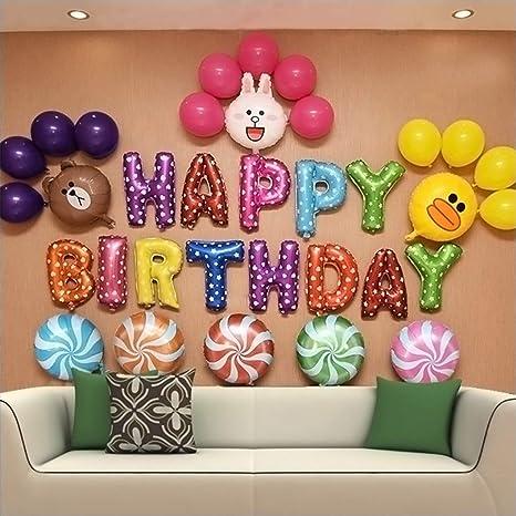 Feigo Set Di Decorazioni Per Feste Di Compleanno Buon Compleanno