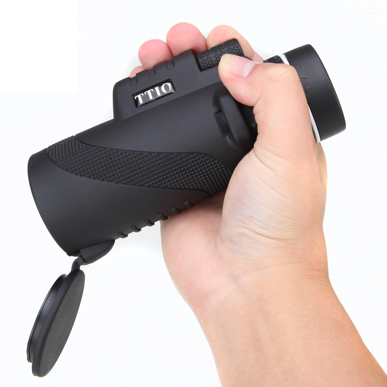 TTIO X11 Monoculars 10X42 Dual Focus Monocular Telescope/Monocular Scope for Hunting, Camping, Surveillance