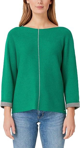 s.Oliver RED Label Damen Pullover mit Kontrast Details