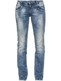 M.O.D Damen Straight Jeans Rea: : Bekleidung