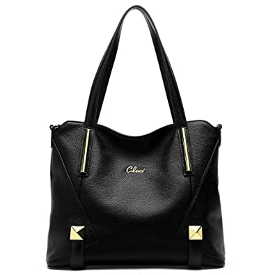Cluci Genuine Leather Purses and Handbags for Women Tote Shoulder Crossbody  Bag On Clearance 1cde7c0cd9