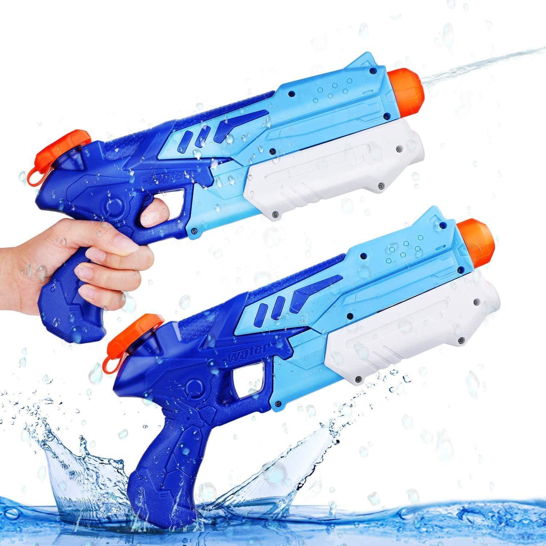 Für größere Ansicht Maus über das Bild ziehen Ucradle Wasserpistole, 2er Set Water Gun Spielzeug für Kinder