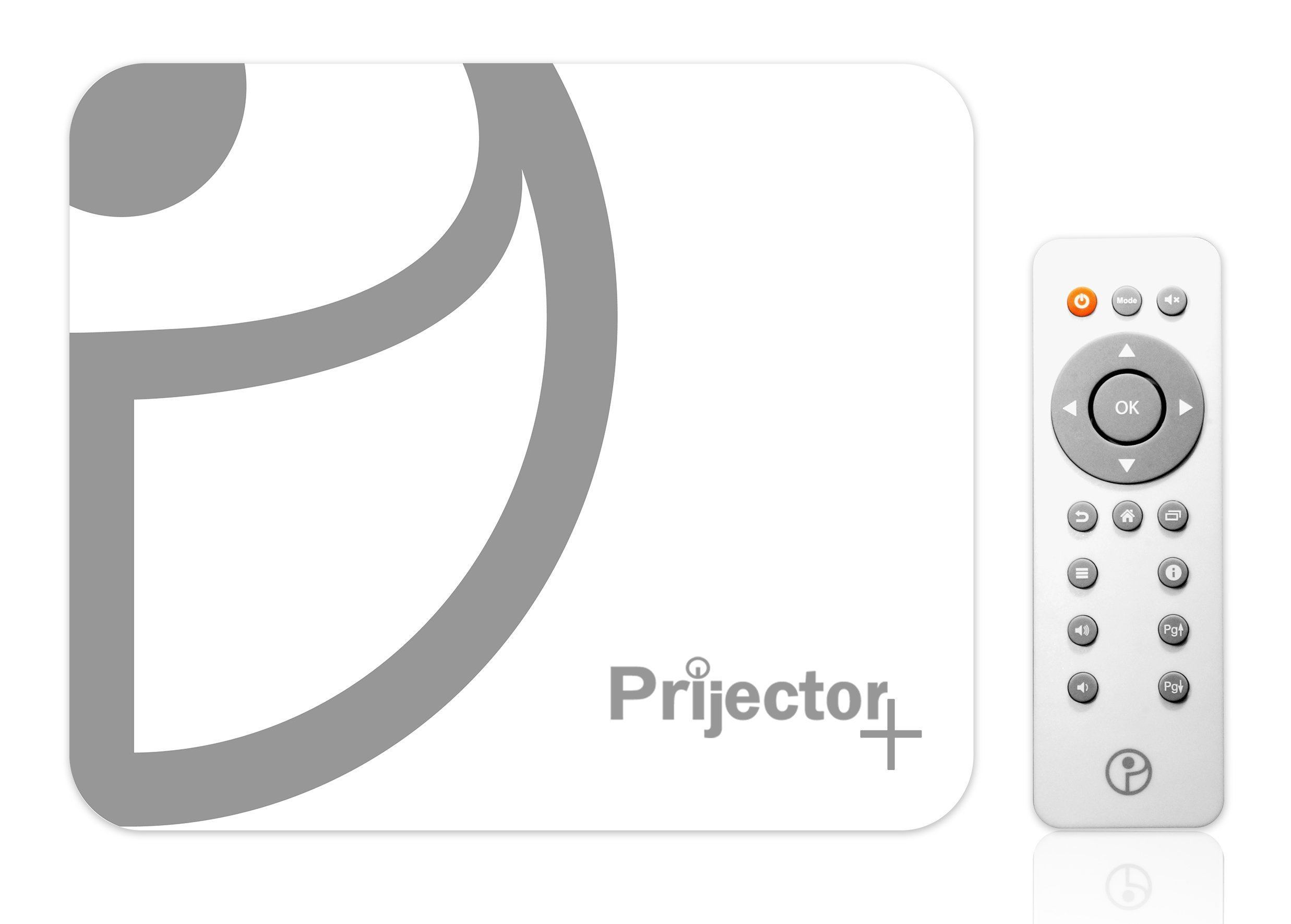 Prijector- Wireless HDMI Full Screen Mirroring From any Device (In 3 Seconds) / Runs Video Conferencing Apps / Guest Internet Access