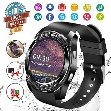 Reloj inteligente, reloj inteligente con pantalla táctil Bluetooth ...