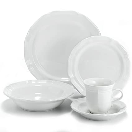 Mikasa French Countryside 5-Piece Place Setting  sc 1 st  Amazon.com & Amazon.com: Mikasa French Countryside 5-Piece Place Setting ...