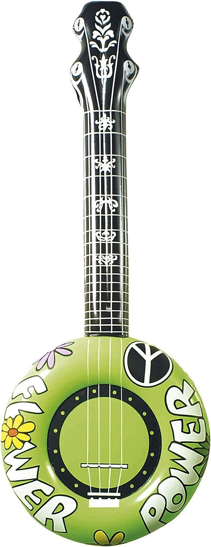/AC1711/ /Guitarra Hippie hinchable varios 100/cm Widmann/ 1 Unidad Modelos//colores Surtidos