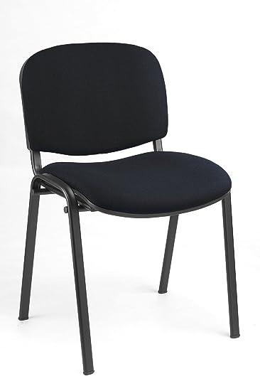 20X Besucherstuhl Stühle Warteraumstühle Büromöbel stapelbar 220200 ...