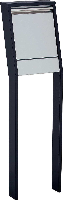 ポスト 郵便ポスト 郵便受け スタンドポスト グリートII カラー:ブラック B072KGPMCY