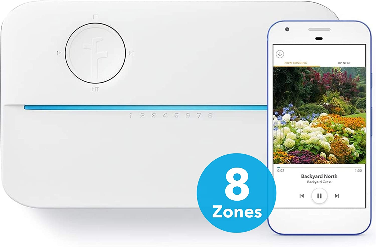 Rachio 3 Smart Sprinkler Controller, 8 Zone