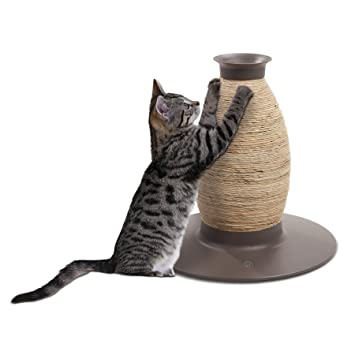 griffoir chat vase