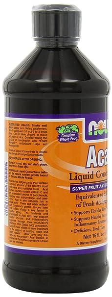 Amazon.com  NOW Supplements, Acai Liquid, 16-Ounce  Health   Personal Care 98e55a6318d