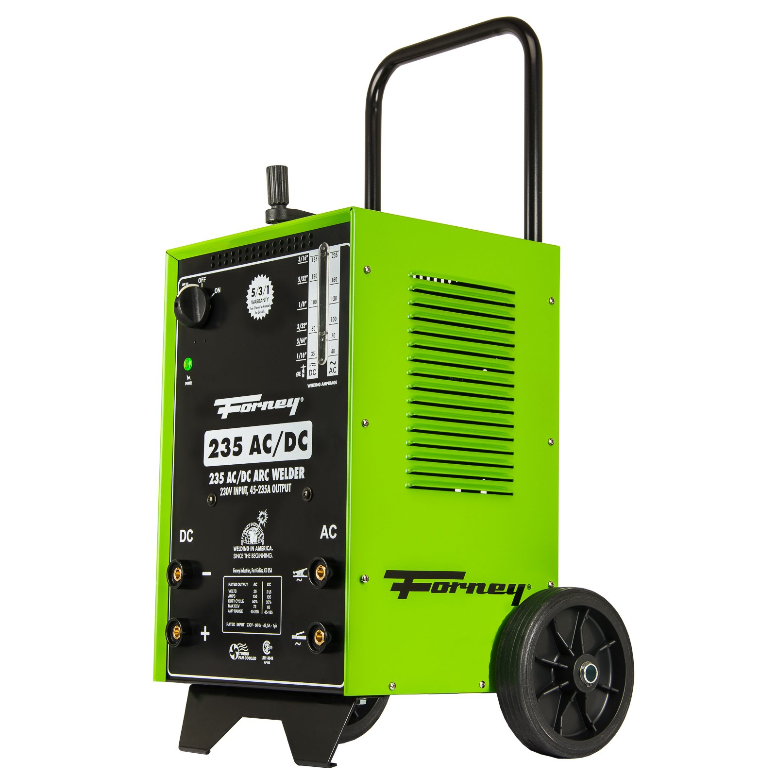 Forney 314 Arc Welder 235FI AC DC, 230-Volt, 230-Amp by Forney (Image #3)