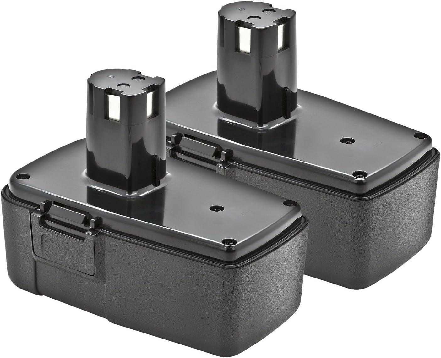 2 Pack ExpertPower 18v 2000mAh NiMh Battery for Craftsman 11098 11103 223310 9-11103 9111098 982027-001 982321-001 982321.001 11305 11306 11307 11312 11313 11318 27199