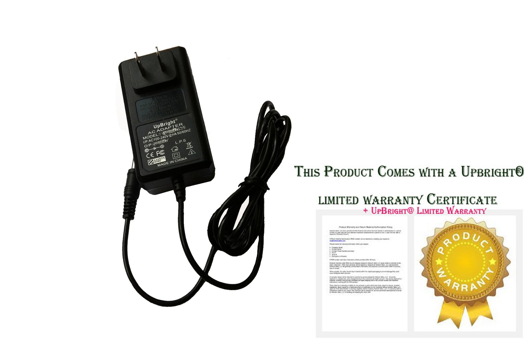 UpBright NEW AC / DC Adapter For Axis Communications 213 NTSC P/N: 0220-004 213R PTZ Network Security Surveillance Camera Power Supply Cord Cable PS Wall Home Charger Mains PSU
