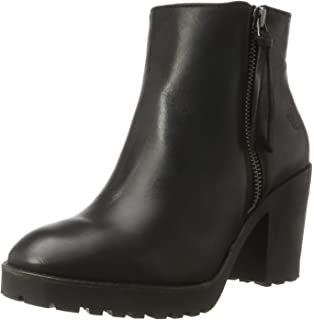 Apple Of Eden Marina Black Damen Stiefel Stiefeletten Ankle Boots Schwarz
