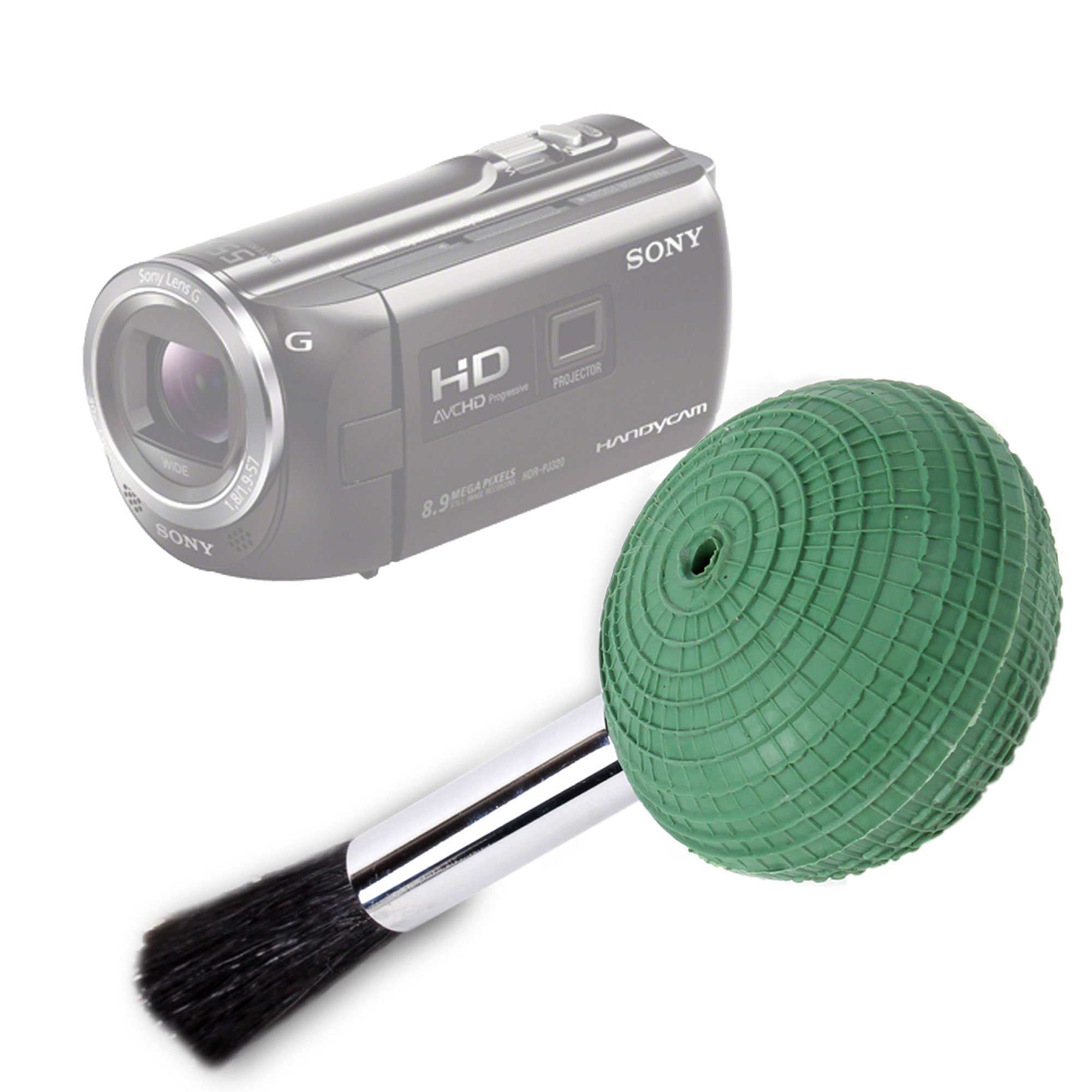 DURAGADGET Camera Lens Blower Brush Cleaning Pen For Sony Pj320 / Sony HDR-CX410