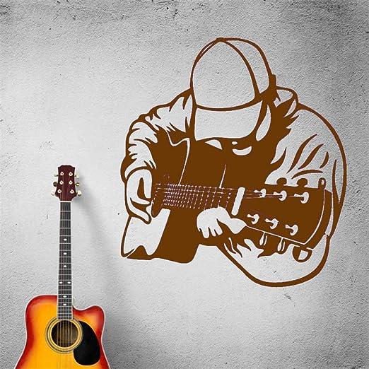 zhuziji Música Pared Guitarra Guitarrista Instrumento Musical ...