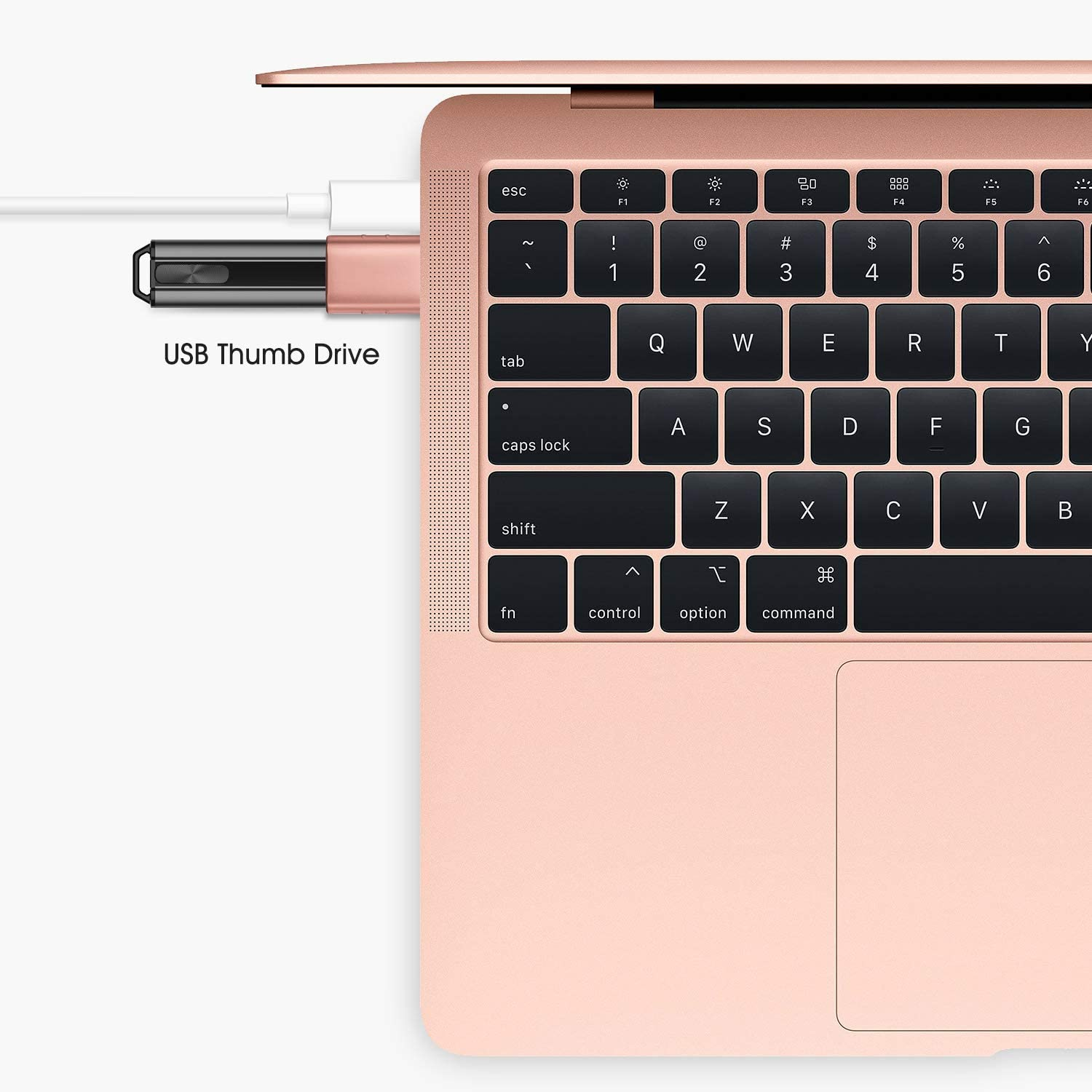 MacBook Air 2019//2018 Syntech USB C to USB Adapter 2 Pack Dell XPS and More Type C Devices Rose Gold Thunderbolt 3 to USB 3.0 Adapter Compatible with MacBook Pro 2019 and Before
