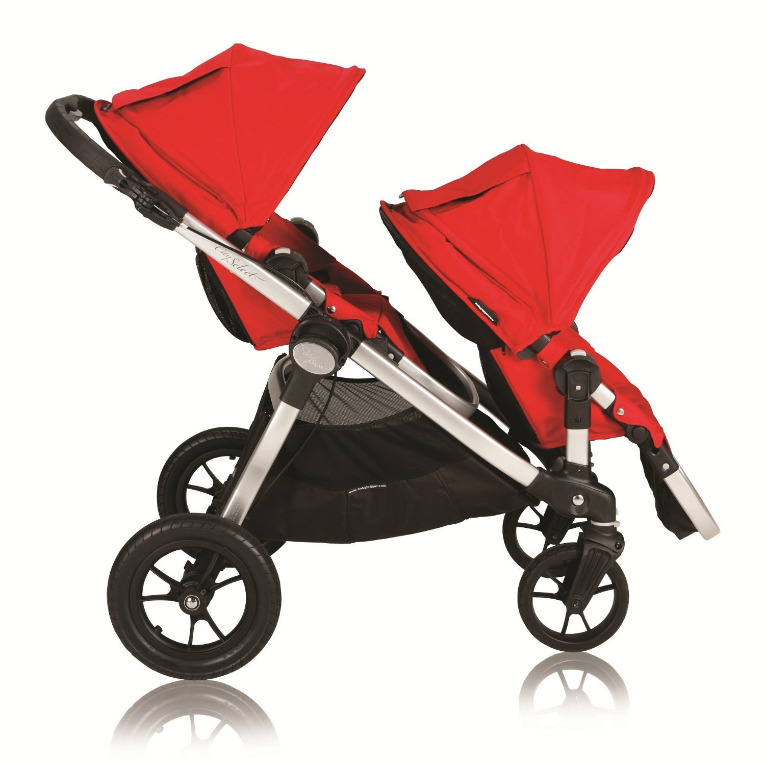 Amazon Baby Jogger City Select Stroller with 2nd Seat Ruby Tandem Strollers Baby