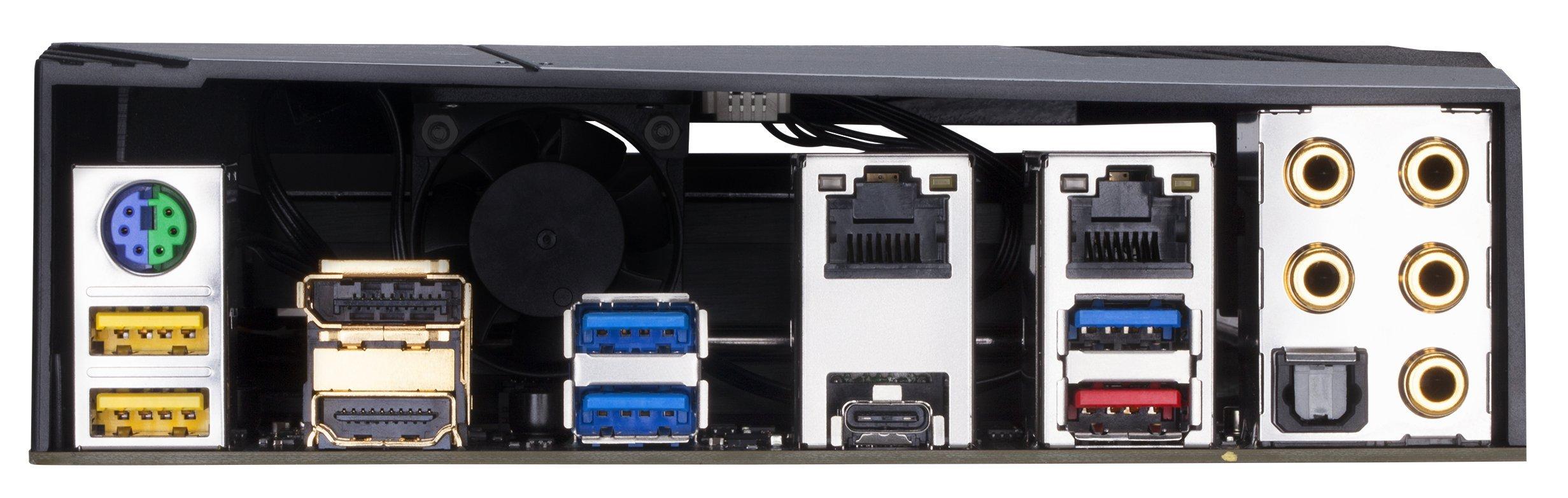 GIGABYTE Z370 AORUS Gaming 7 (Intel LGA1151/ Z370/ ATX/ 3xM.2/ M.2 Thermal Guard / Front USB 3.1 /ESS Sabre DAC /RGB Fusion/ Fan Stop /SLI/ Motherboard) by Gigabyte