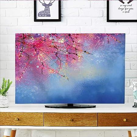 Jiahonghome protege tu tulipán de televisión bajo el cielo azul en símbolos de cultura otomana medieval, protege tu televisor de 19 pulgadas de ancho x 30 pulgadas de alto: Amazon.es: Hogar