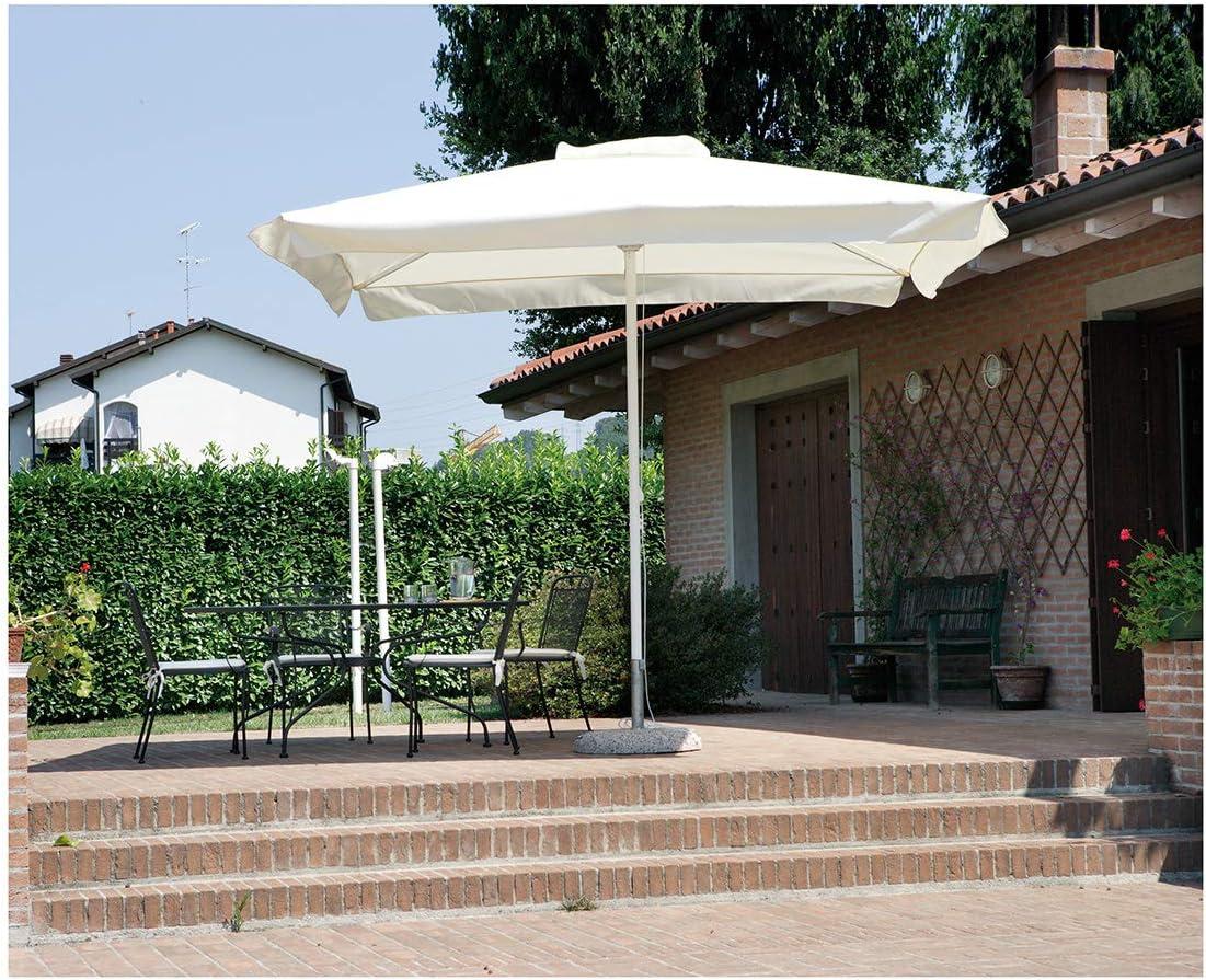 Greenwood - Sombrilla 3x3 Contract - Caña Ø 48 mm de Aluminio: Amazon.es: Jardín