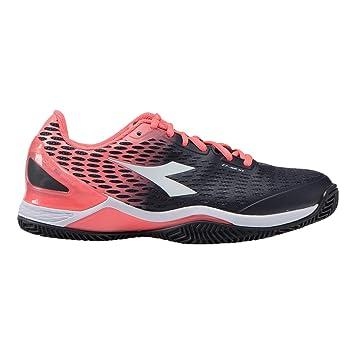 Diadora Mujeres Speed Blushield 2 Clay Zapatillas De Tenis Zapatilla Tierra Batida Negro - 42: Amazon.es: Deportes y aire libre