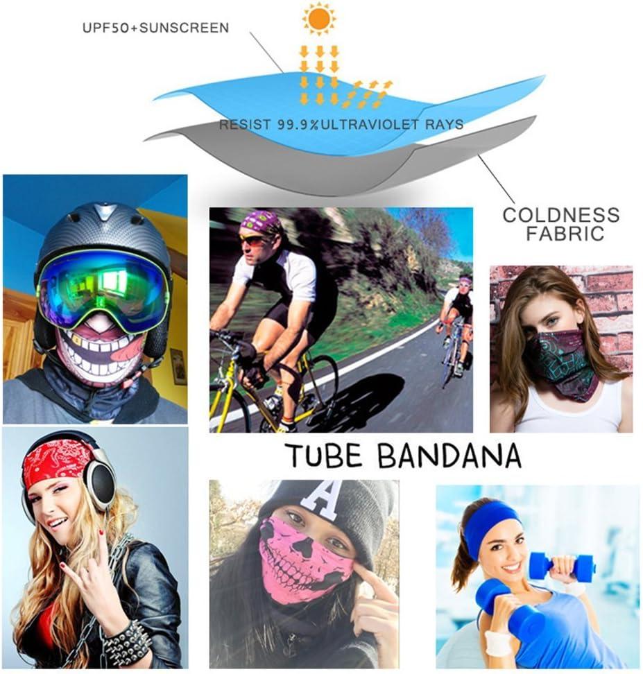 Leezo Gesichtsmaske Frauen M/änner 3D Tier Tiger Gedruckt Sonnenschirm Schwei/ßband Hairband Kopftuch Kamera Schutzh/ülle Outdoor Sportswear Zubeh/ör Multifunctional Headwear