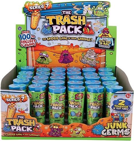 The Trash Pack 68383 Serie 7 - 2 Gérmenes de basura en tubo de prueba: Amazon.es: Juguetes y juegos