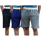 ELK Mens's Cotton Shorts Trouser Clothing 3 Color Set Combo
