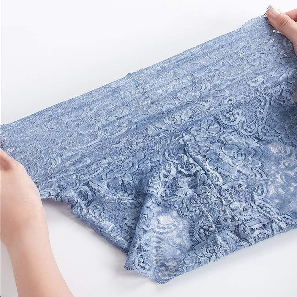 Azul 1 Piezas,2XL Talladoras De Cintura Alta para Mujer Que Adelgazan El Control del Vientre Calzoncillos Florales El/ásticos DFGHA Calzoncillos De Encaje Sin Costuras para Mujer De 3 Piezas