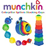 Caterpillar Spillers from Munchkin age 9m+ Stacking cups Bath toy Bpa Free