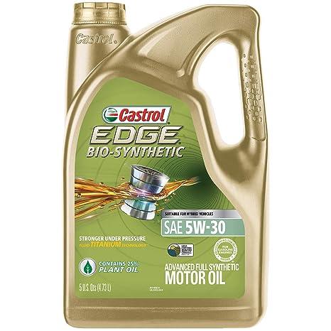 Amazon.com: Aceite de motor sintético Castrol 03555 ...